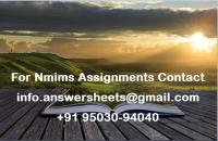 Solved NMIMS MAY 2021 Advanced Supply Chain Management Assignment