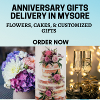 Anniversary Gifts Delivery to Mysore-Online Birthday Gifts to Mysore