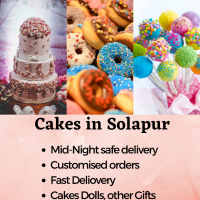 Online cake delivery to Solapur