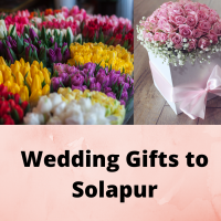 Online wedding gifts delivery to Solapur