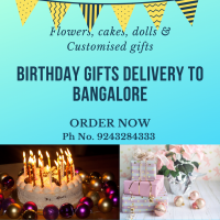 Birthday Gifts Delivery to Bangalore
