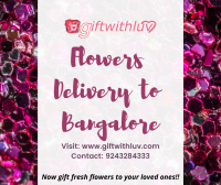 Send Flowers to Bangalore – Online Florist in Bangalore
