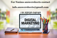 NMIMS DEC 2021 READY ASSIGNMENTS - Consumer behaviour with respect to online education